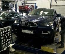 Сход — Развал Hofmann 3D рекомендован BMW